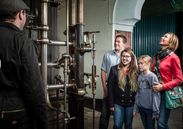London Museum of Water & Steam is home to magnificent collection of steam pumping engines.