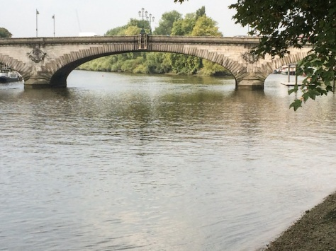 The Iconic Kew Bridge over the Thames